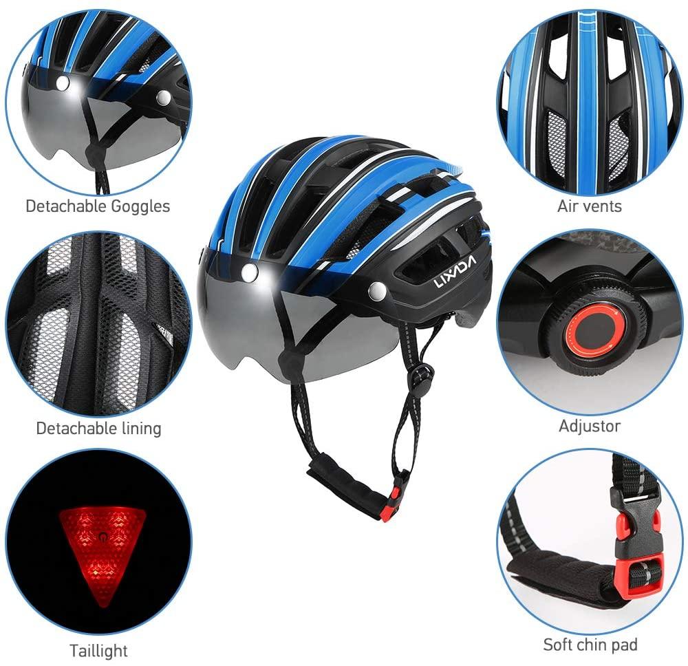 casque vélo électrique lixada