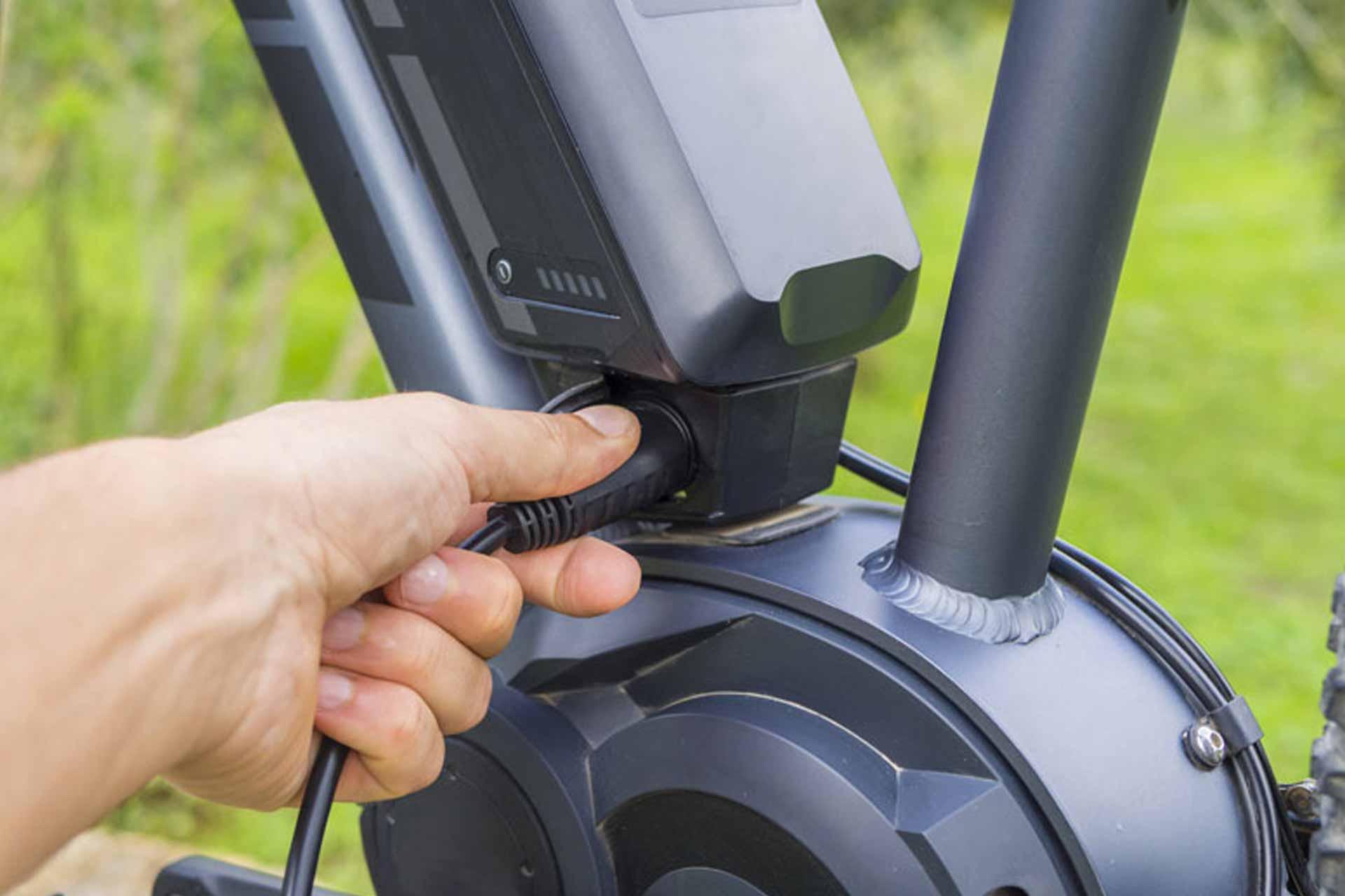 chargeur vélo électrique